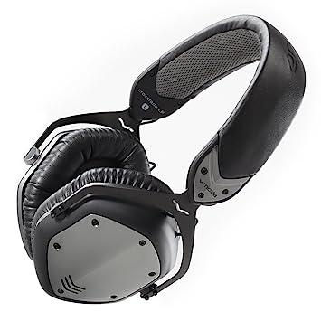V-MODA Crossfade LP Over-Ear Noise-Isolating Metal Headphones - Gunmetal Black