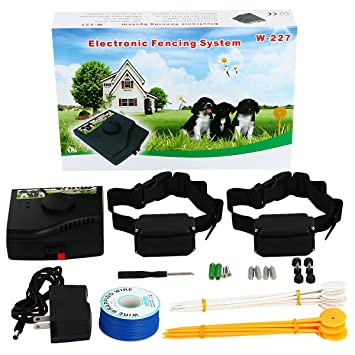 underground dog fence wired containment system 1000ft wire kit for multiple dogs with waterproof static