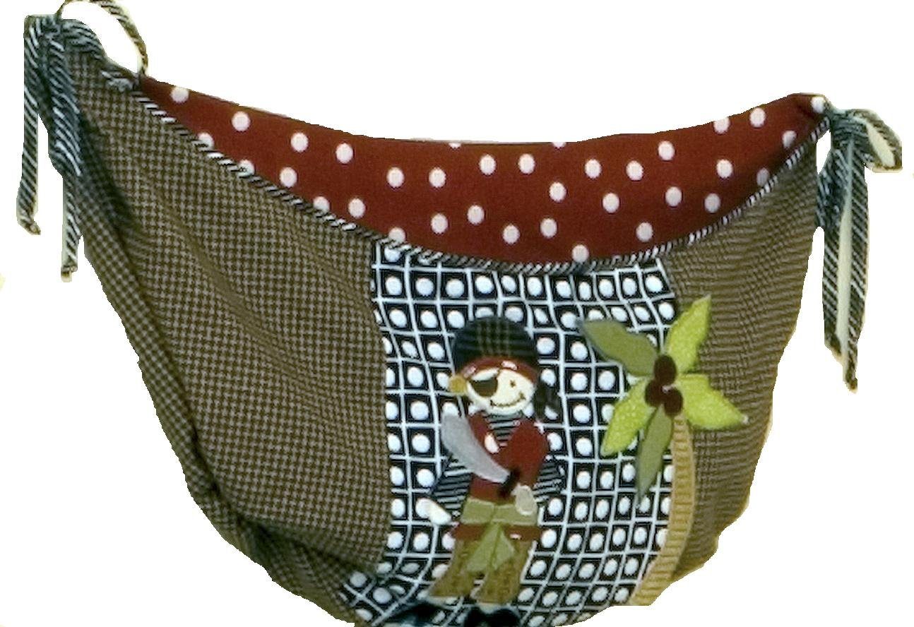 Cotton Tale Designs Pirates Cove Toy Bag by Cotton Tale Designs