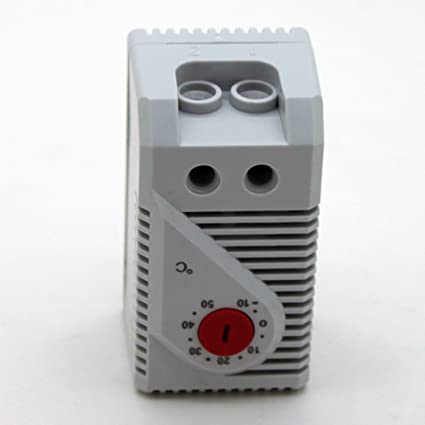 Generic pequeño compacto Termostato regulable, 0 – 60 grados conexión de controlador de temperatura de