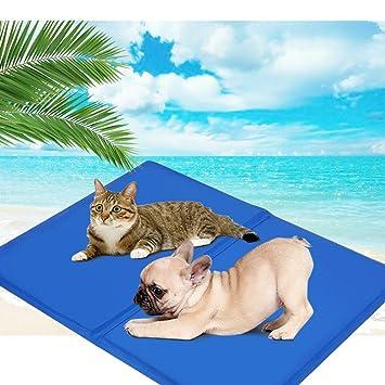 400 * 500 mm Manta Refrigerante para Perro,AZXES, Almohadilla Portátil de Refrigeración para