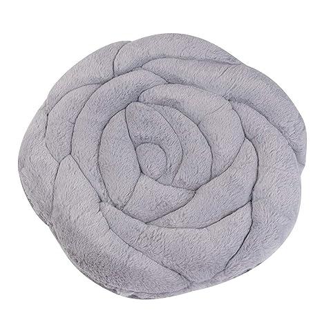 Amazon.com: Freeby - Cojín de felpa con diseño de rosas ...