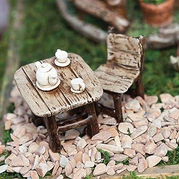 Mini Garten Tisch Und Stuhl Set