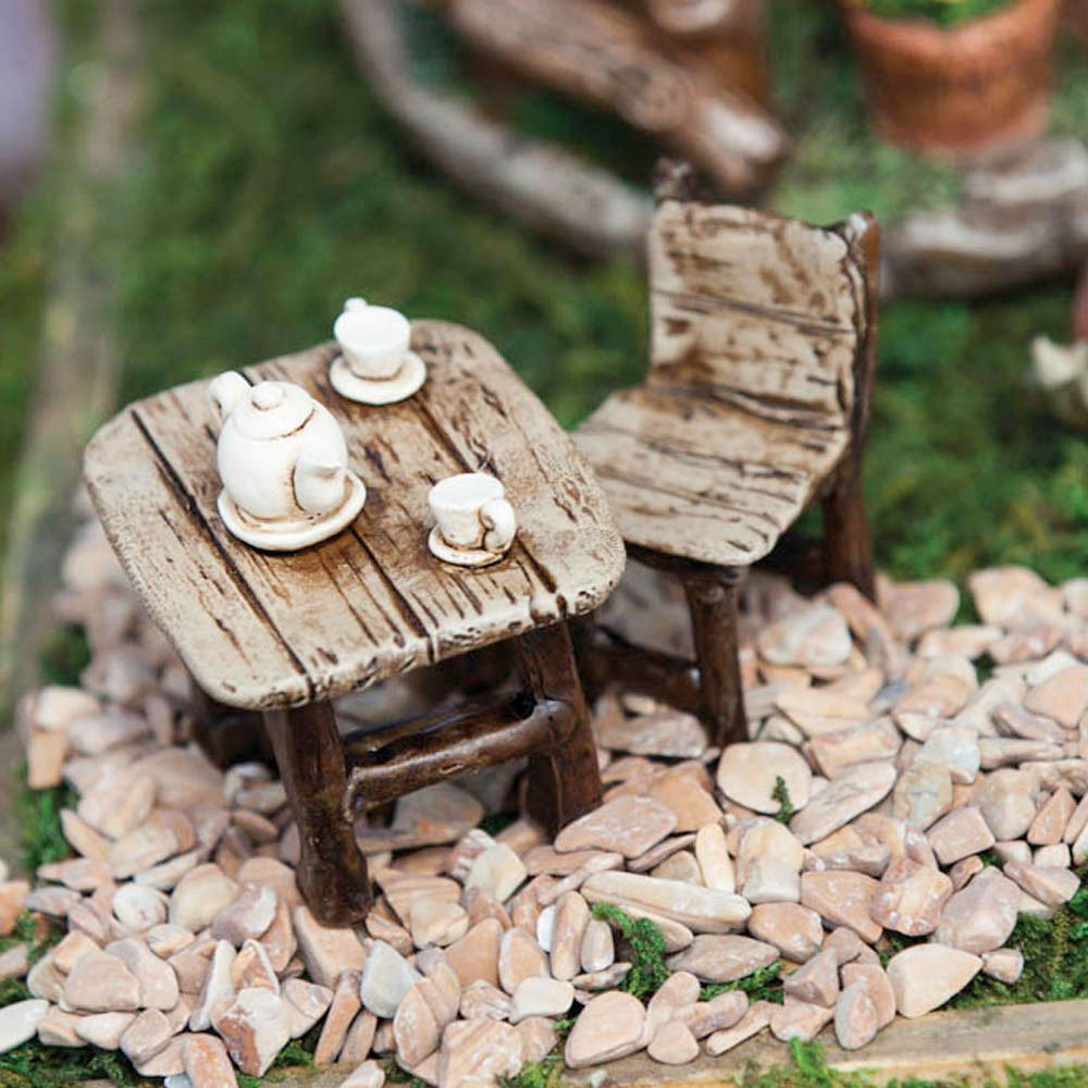 Mini Garden Table And Chair Set