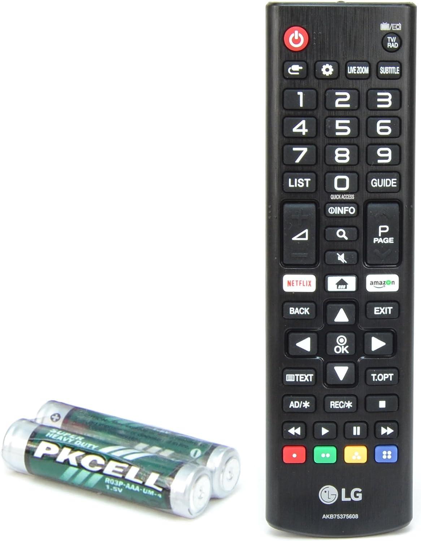 LG Mando Original Universal AKB75375608 para Cualquier TV: Amazon ...