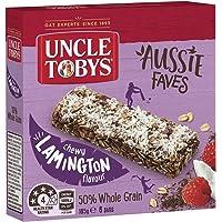 UNCLE TOBYS Museli Bars Aussie Faves Lamington 6 Pack, 185g
