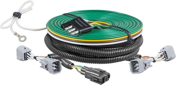 Amazon Com Curt 58962 Custom Towed Vehicle Rv Wiring Harness For Dinghy Towing Select Subaru Xv Crosstrek Automotive