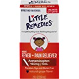 Little Remedies Infant Acetaminophen Fever and Pain Reliever, Grape, 2 Fluid Ounce