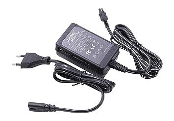 Cargador para CÁMARA Compatible con Sony sustituye AC-L20, AC-L20A, AC-L20B, AC-L25, AC-L25A, AC-L25B, AC-L200