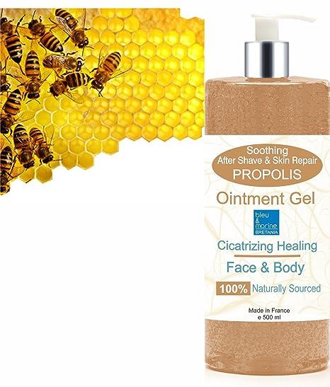 BÁLSAMO ACTIVO - Gel Hidratante y Reparador Pomada de Propóleo 500 ml - Gel anti acné