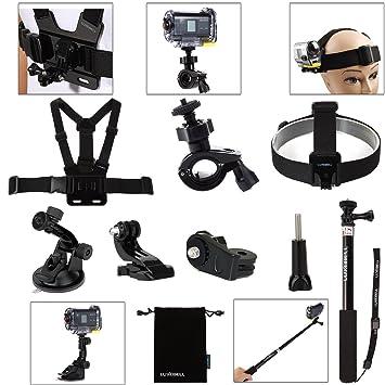 Luxebell®ソニーアクセサリセット Sony Action Cam ソニーアクションカムHDR,AS15/ AS20