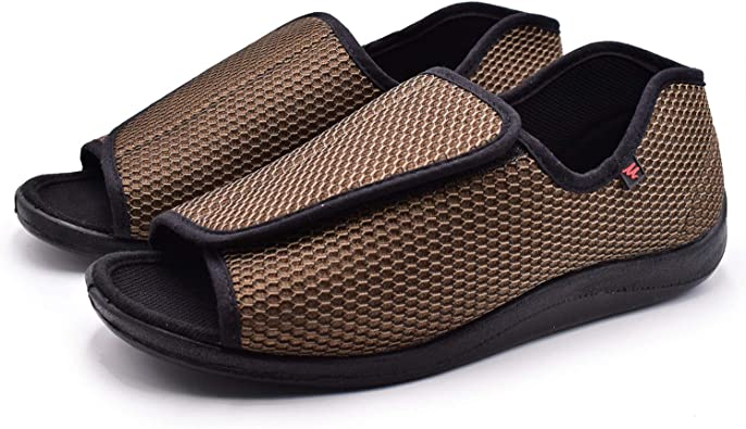 W\u0026Lesvago Men's Diabetic Sandals- Extra