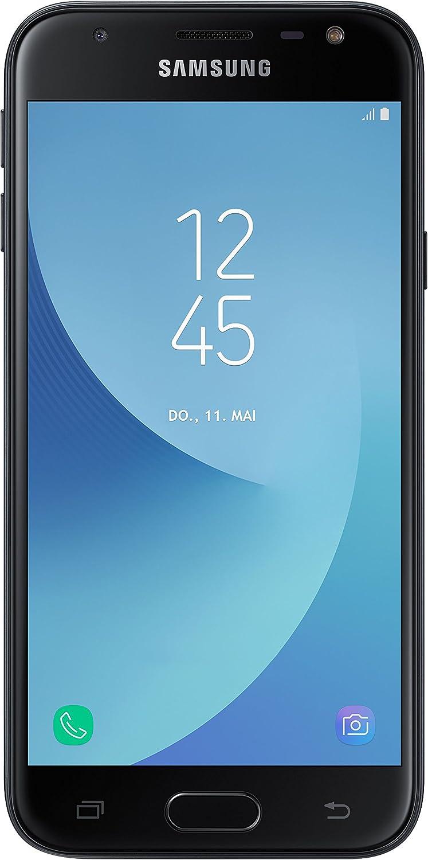 Samsung Galaxy J3 (2017) SM-J330F SIM Doble 4G 16GB Negro: Amazon ...