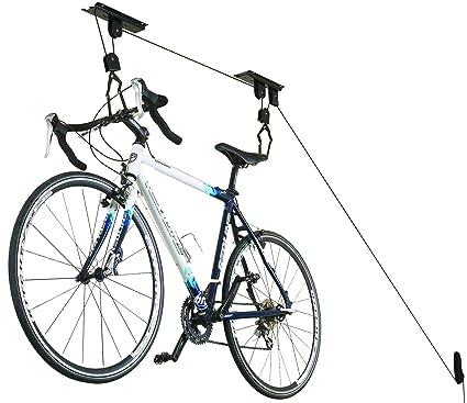 Ceiling Bike Rack >> Cargoloc 32515 Ceiling Mount Bike Lift Bike Storage Racks Amazon Com