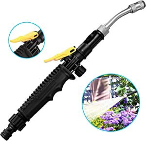 XIYI High Pressure Water Gun for Garden Hose,Portable Washer Wand ,Car Washer Sprayer, Watering Cleaning Power Washer Air Conditioning Ran for Garden Hose Pets Shower Plants