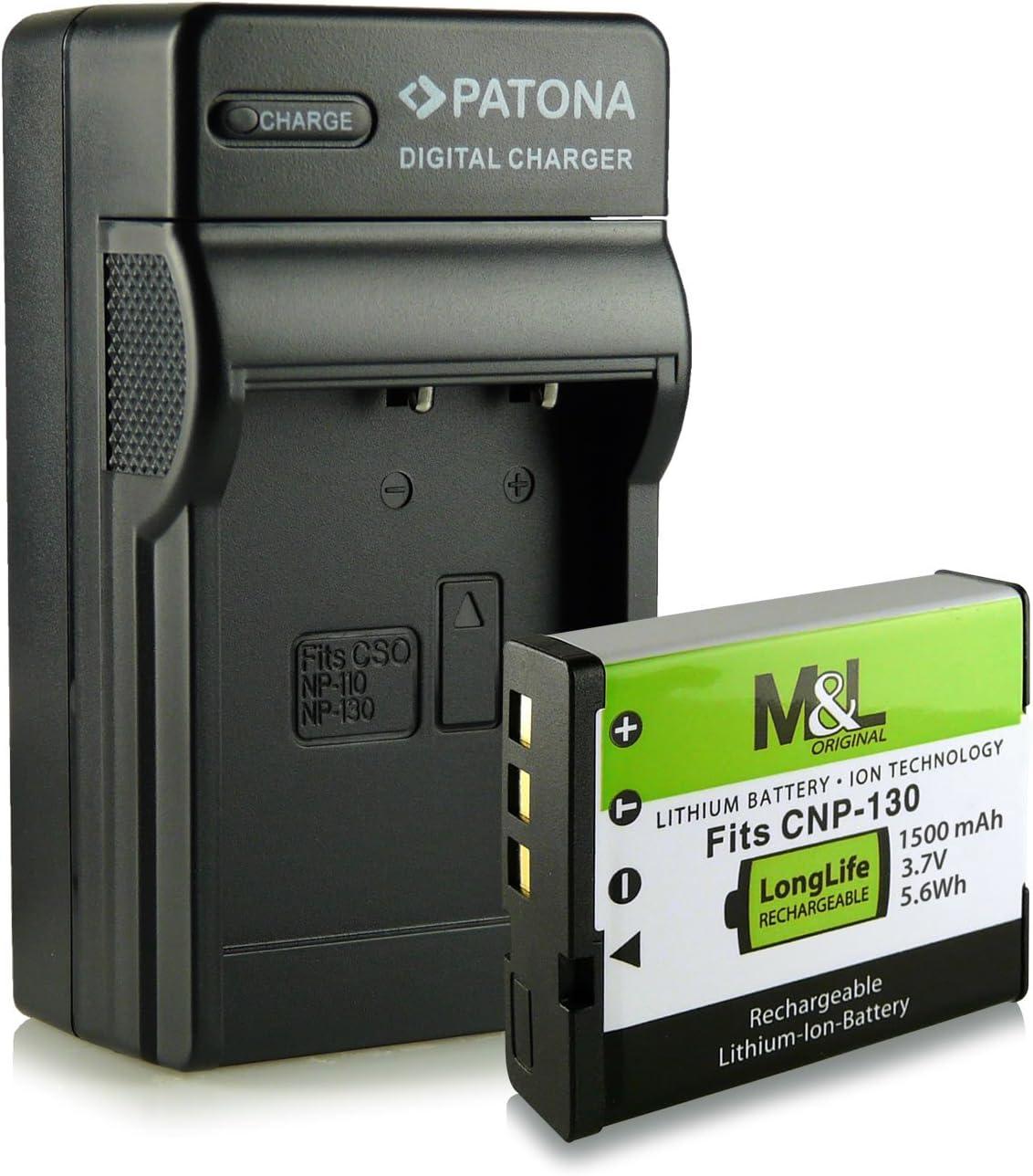 3in1 Ladegerät Akku Wie Np 130 Für Casio Exilim Kamera