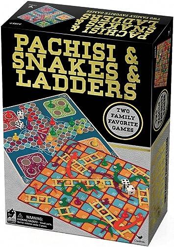 Spinmaster 6030261 - Juego Cardenal Pachisi Ludo/Serpiente y Escaleras: Amazon.es: Juguetes y juegos