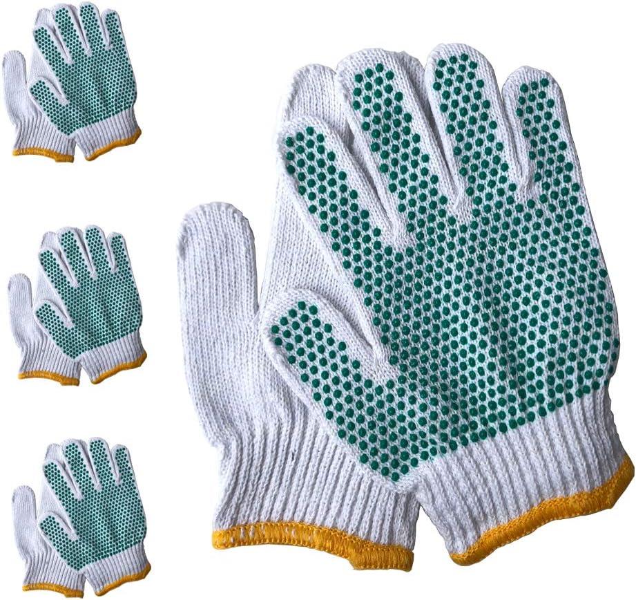 Chlidren Garden Gloves - PROMEDIX - Age 7-10 Kids Gardening Gloves, Toddler Gardening Gloves3- Pair Pack (7-10 Years Old)