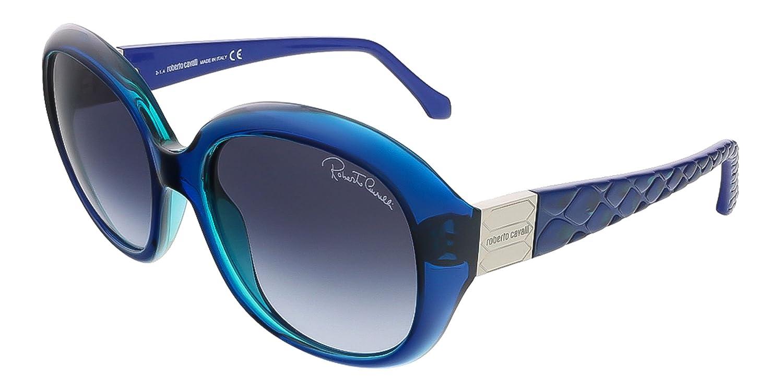 Roberto Cavalli Gafas de Sol RC786S (57 mm) Azul Oscuro ...