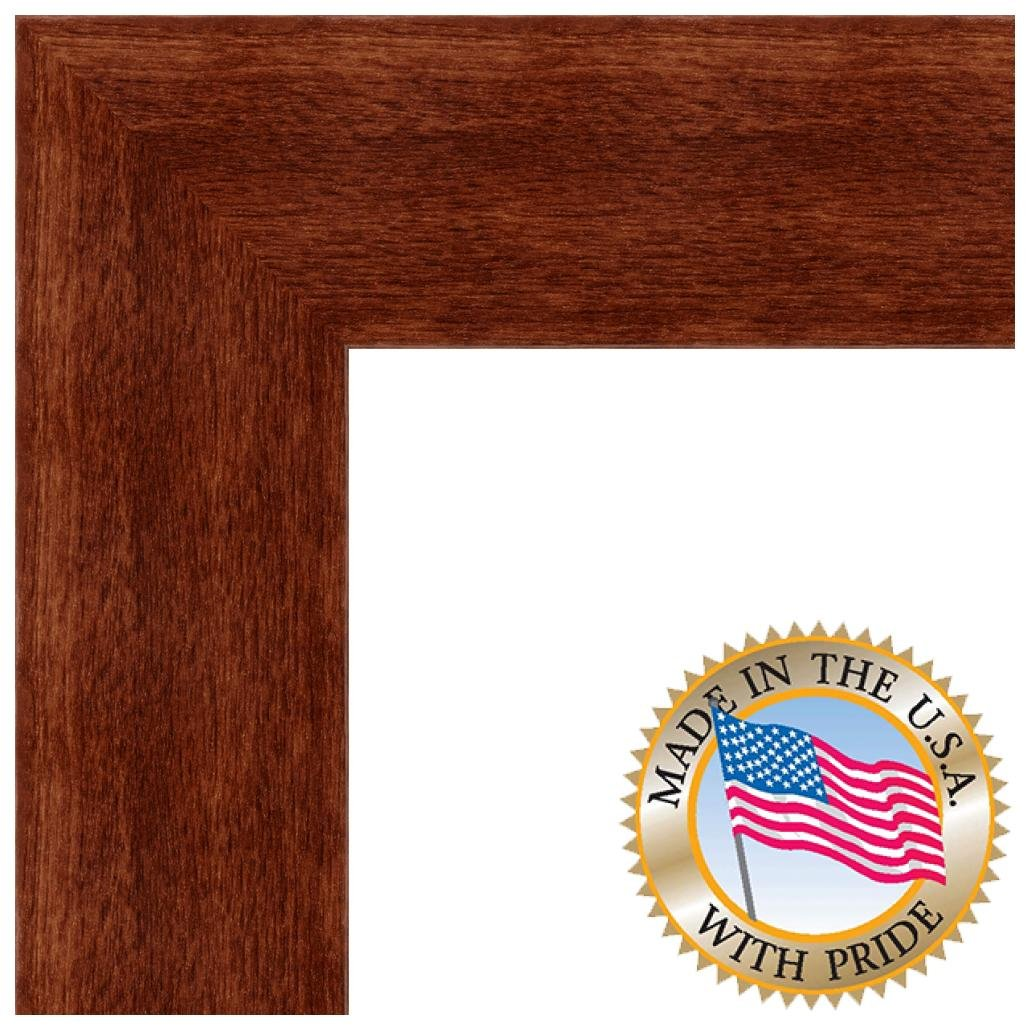 18x36 / 18 x 36 Picture Frame Canadian Walnut .. 2\'\' wide: Amazon.ca ...