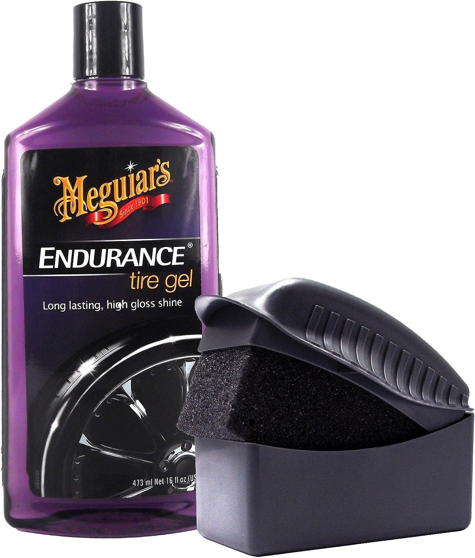 Meguiar S Meguiars Endurance High Gloss Reifenglanz Reifenglanzgel Reifenpflege 473 Ml Tyre Dressing Schwamm Auftragsschwamm Auto