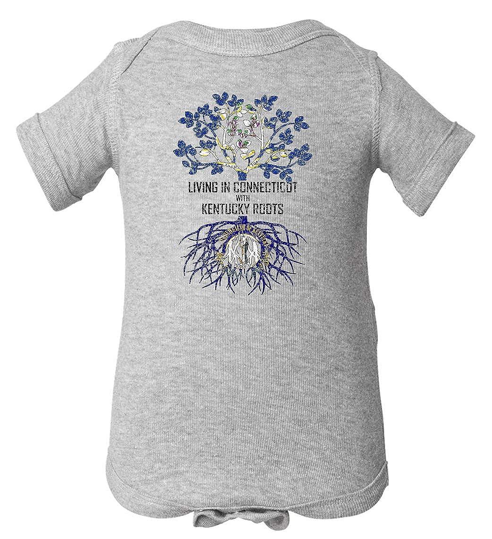 Tenacitee Babys Living in Connecticut Kentucky Roots Shirt
