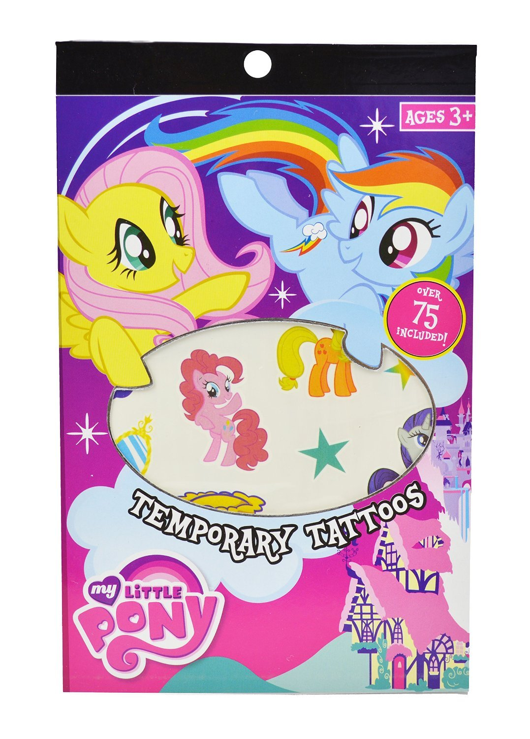 My Little Pony Party Supplies and Party Favors, with My Little Pony Tattoos, Diary, and Stationary Set
