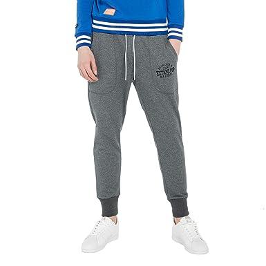 9ffd22cb314fc Extreme Pop Homme Pantalon de Gymnastique ajusté pour Le Jogging sur Le  Jogging Sportif français (