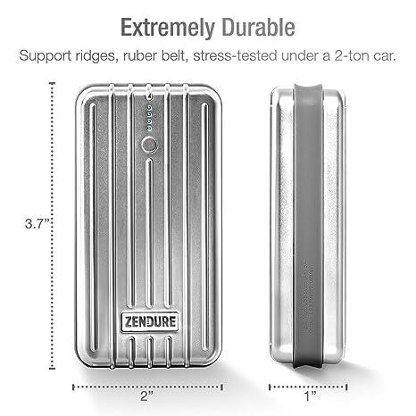 Zendure™ Cargador Portable A2 de 6000mAh – Cargador de baterías externo y power bank extremadamente duradero, compacto y ligero (Salida de 2,1A) para ...