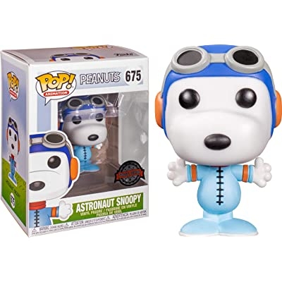 POP! Funko Animation - Peanuts Astronaut Snoopy - Limited Edition Exclusive: Toys & Games