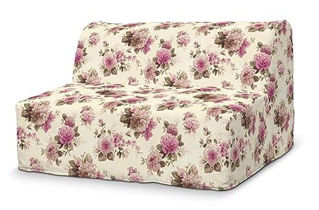 Dekoria Fire retarding IKEA LYCKSELE sofá, diseño de Rosas ...