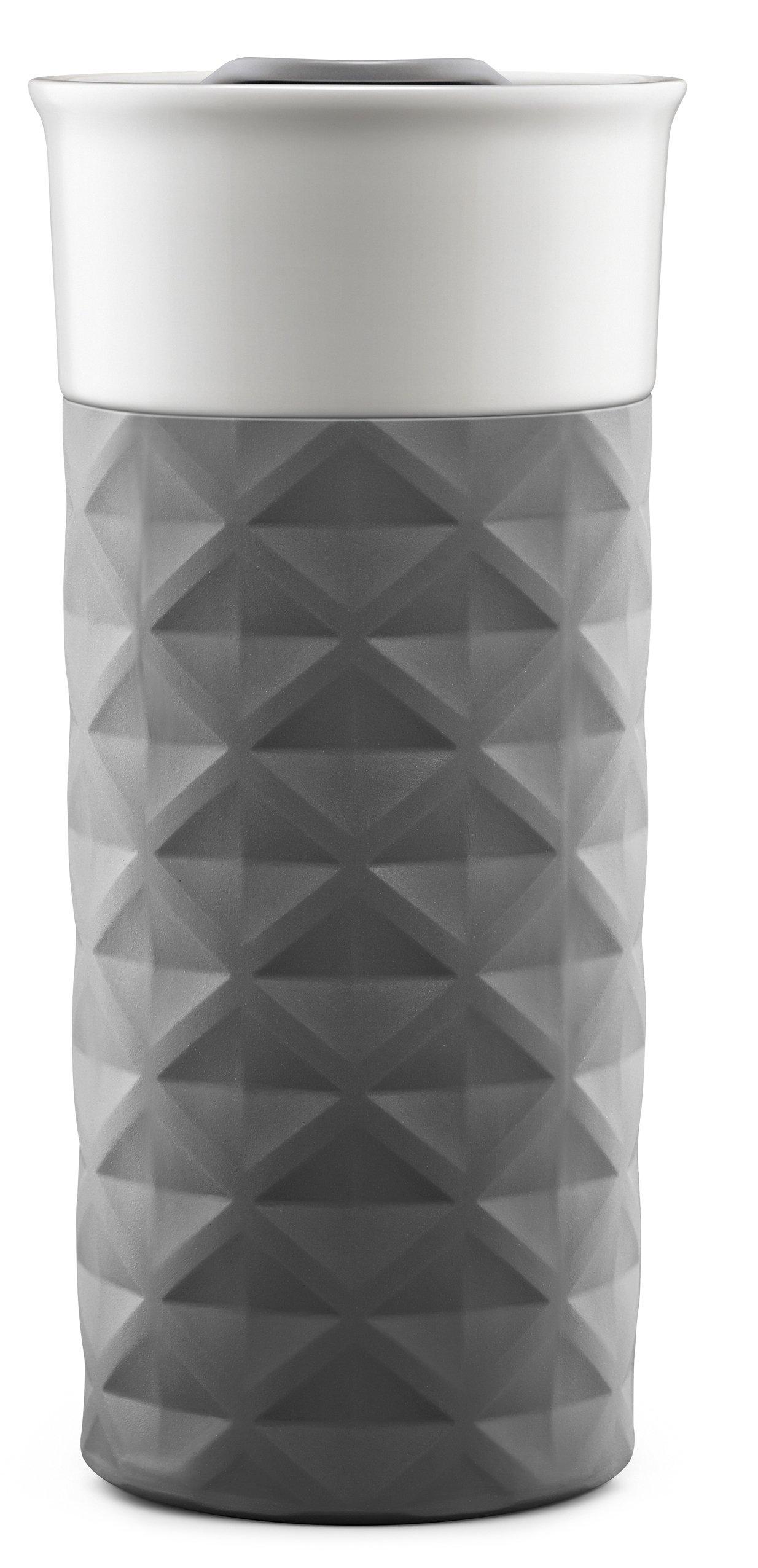 Ello Ogden BPA-Free Ceramic Travel Mug with Lid, Grey, 16 oz by Ello (Image #5)