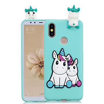 HopMore Compatible con Funda Xiaomi Redmi S2 Silicona Dibujo 3D Divertidas Panda Animal Carcasa TPU Gel Ultrafina Slim Case Antigolpes Caso Protección ...