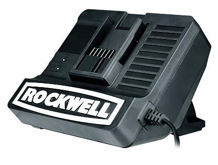 Amazon.com: Rockwell rw9162 18 V Litio Tech Cargador por ...