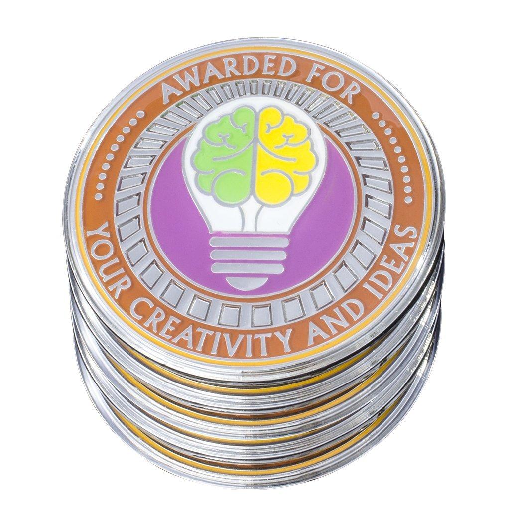AttaCoin - 5 Coin - Creativity - Employee Appreciation Gifts - Motivation Award