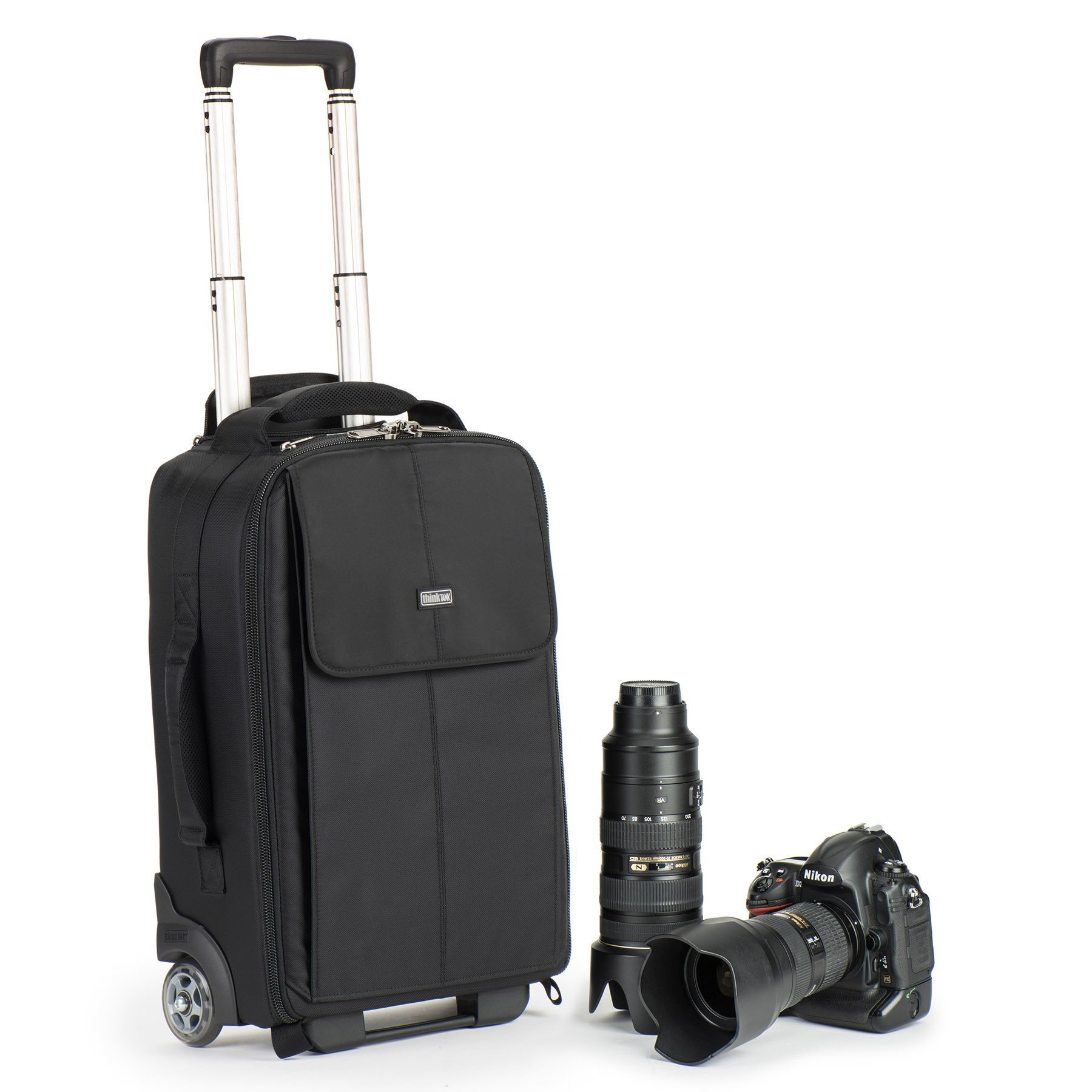 Airport Advantage Rolling Carry-On Camera Bag - Black by Think Tank