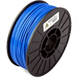 LulzBot ABS 3D Printer Filament, 3 mm Diameter, 1 kg Spool, Blue