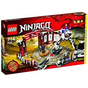 LEGO Ninjago Exclusive Limited Edition Set #2520 Ninjago Battle Arena Includes Cole Dragon Ninja Mini Figure Spinner!