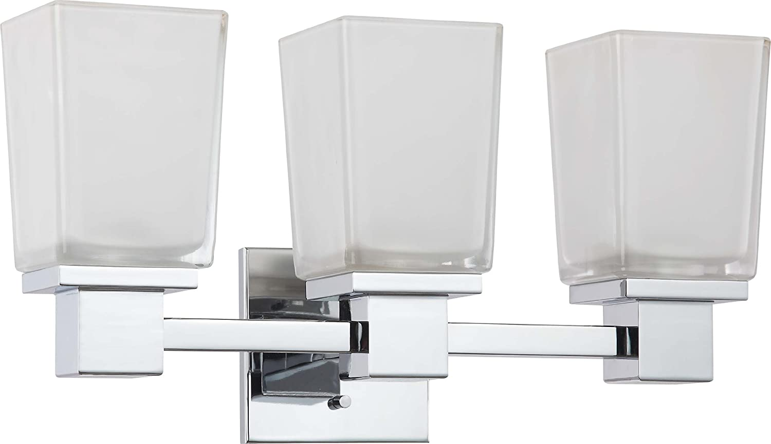 Amazon nuvo lighting 604003 three light parker vanity with amazon nuvo lighting 604003 three light parker vanity with sandstone etched glass cul damp location polished chrome home improvement arubaitofo Choice Image