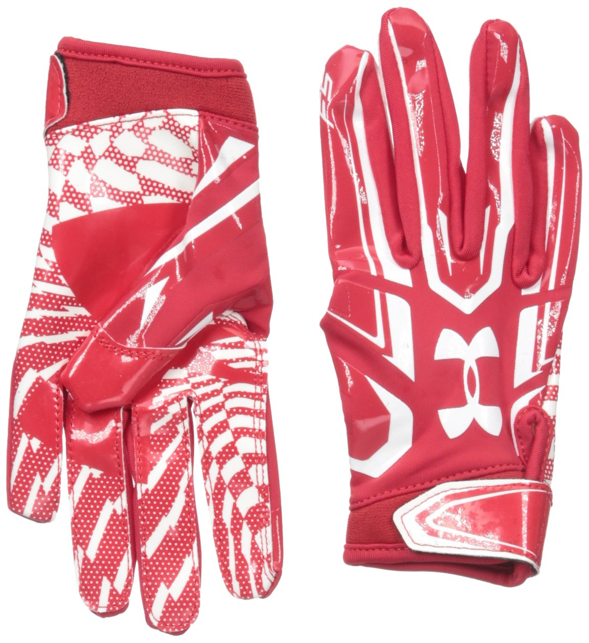 under armour superman football gloves