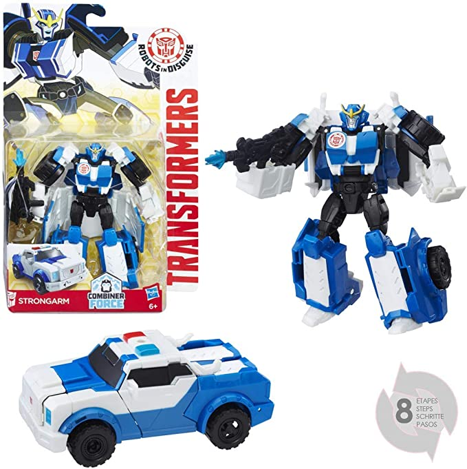 Transformers - Figura Warrior Strongarm (Hasbro B0910ES0): Amazon ...