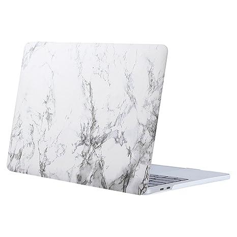 MOSISO Funda Dura Compatible 2018 2017 2016 MacBook Pro 13 con/sin Touch Bar A1989