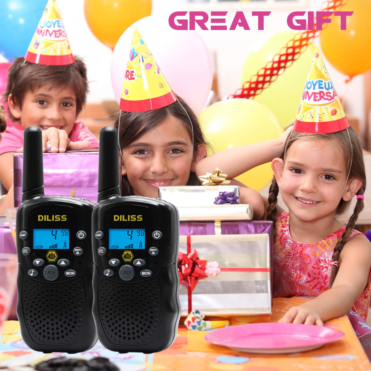 DilissToys Walkie Talkies for Kids by DilissToys (Image #3)