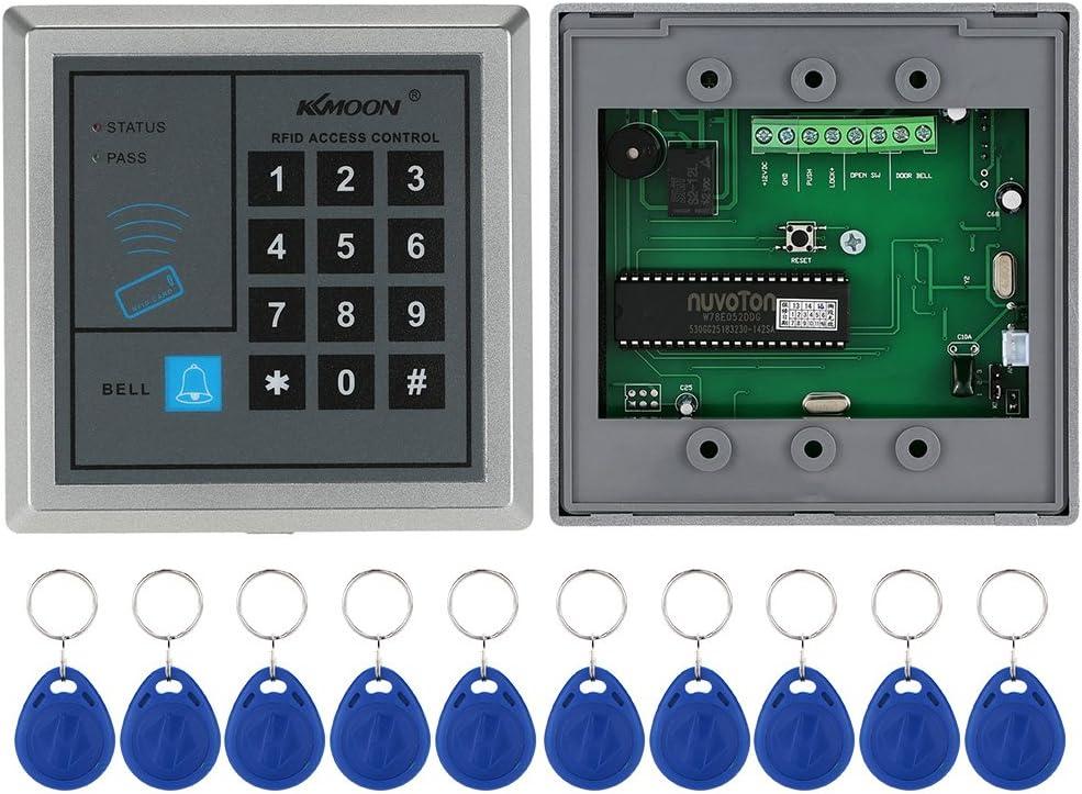 KKmoon Kit de Caja Central de Control Remoto con Bot/ón de Libraci/ón Sistema de Entrada de Puerta de Coche Universal sin Llave