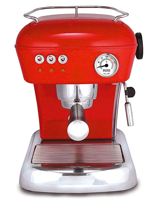 Ascaso 600751 Dream - Cafetera express, color rojo: Amazon.es: Hogar