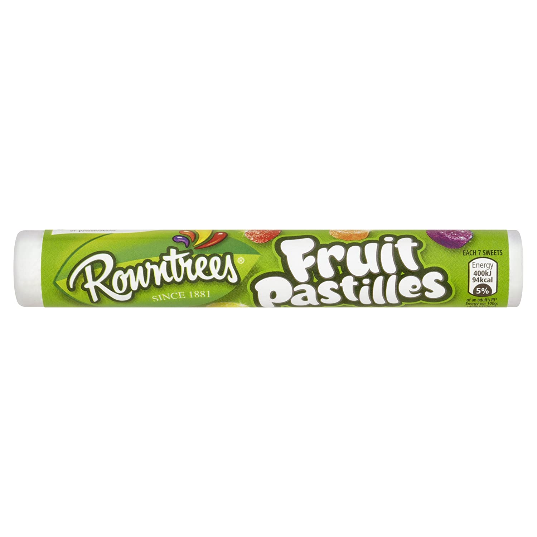 Rowntree s Fruit Pastilles Tubo 52,5 G (Pack de 24): Amazon ...