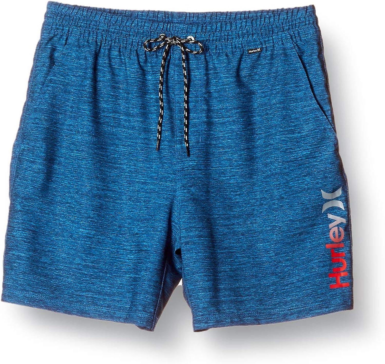 Hurley Mens One /& Only Gradient 18 Inch Elastic Waist Swim Short Volley