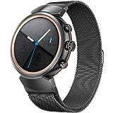 Vicara per Asus ZenWatch 3band, milanese loop cinturino dell' orologio in acciaio INOX Quick Release replacement Wristband da uomo e da donna per Asus Watch Band 14mm