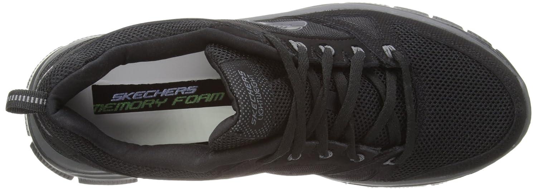 Skechers Sport Men's Flex Advantage Memory Foam Training Shoe B00I38R1PS 10.5 D(M) US|Black
