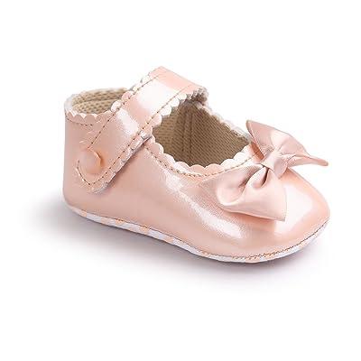 JL store , Chaussures premiers pas pour bébé (fille) rose rose Suitable Age0~6 month